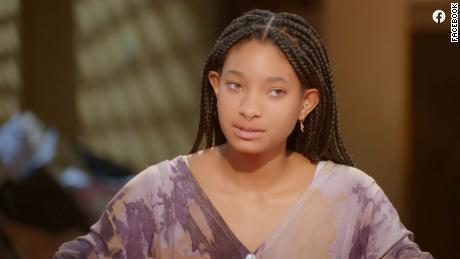 """Willow Smith holds her own on an episode of """"Red Table Talk."""""""