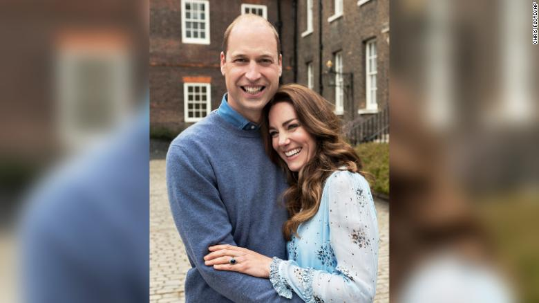 Prince William and Kate mark 10-year wedding anniversary with newly released pictures