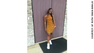 """The teenager told CNN that her multiple scholarship offers """"have made me stand taller, smile wider, and pat myself on the back more often."""""""