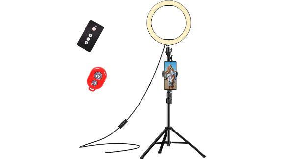 Emart 10-Inch Selfie Ring Light