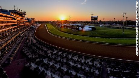 Churchill Downs  in Louisville, Kentucky is home to the Kentucky Derby.