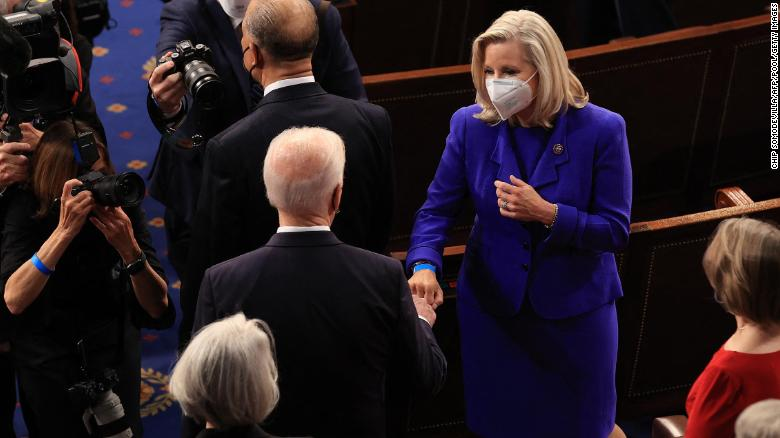The Liz Cheney fist bump that will launch a thousand negative ads