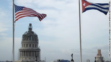 Why is Biden following in Trump's footsteps on Cuba?