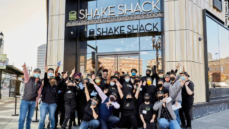 More than 75% of Shake Shack's employees natinowide are people of color, according to the company's latest diversity, equity and inclusion report.