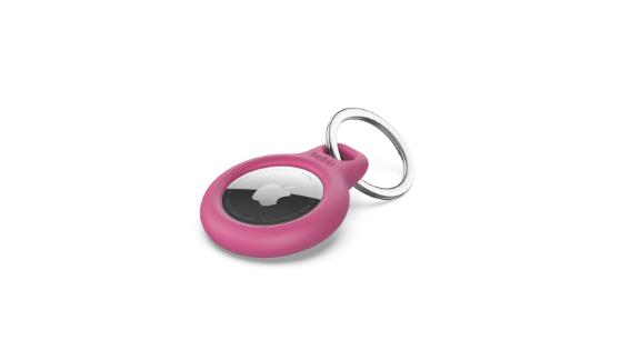 Secure Holder with Key Ring for AirTag