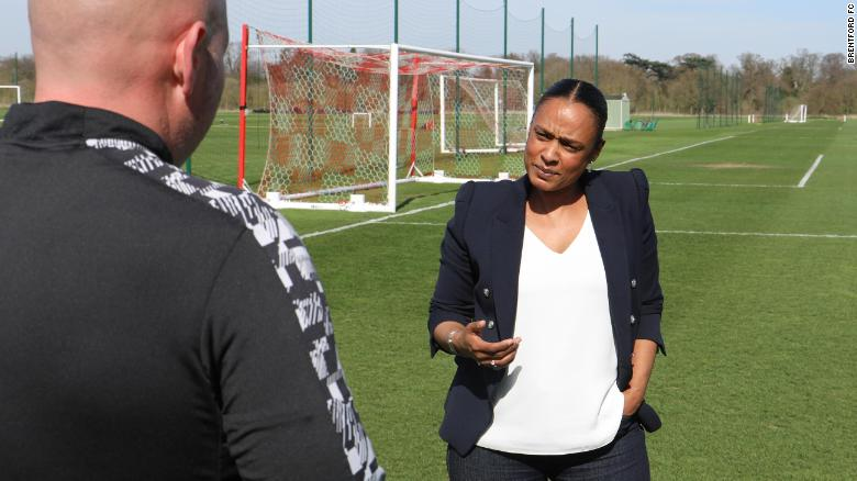 'What are you doing here?' Lorna Falconer says she's faced racism and sexism in English football