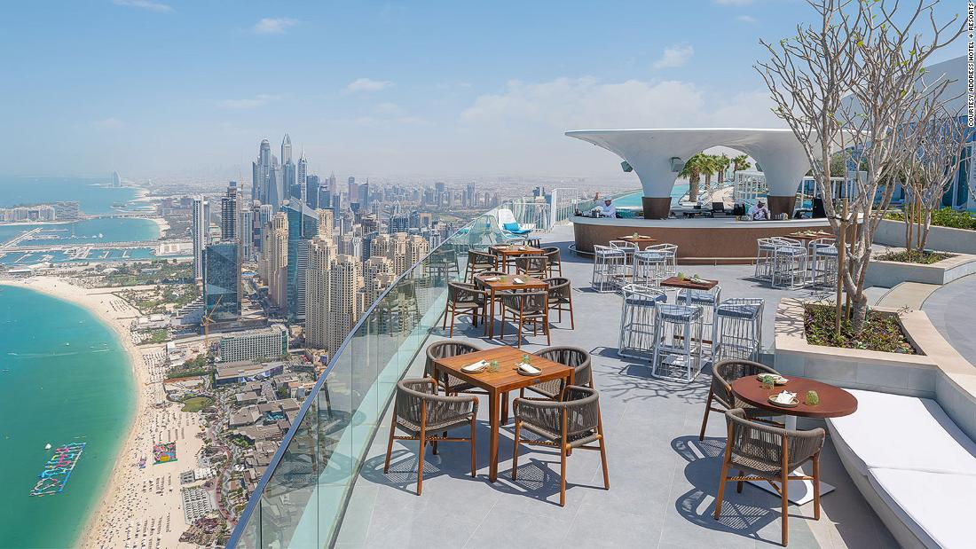 Address Beach Resort: The world's highest infinity pool has opened in Dubai | CNN Travel