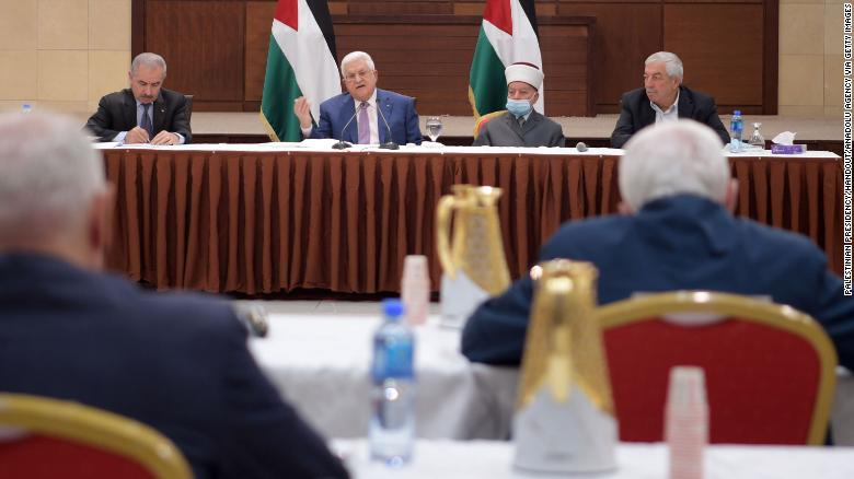 Abbas postpones Palestinian elections, blaming Israel over East Jerusalem impasse