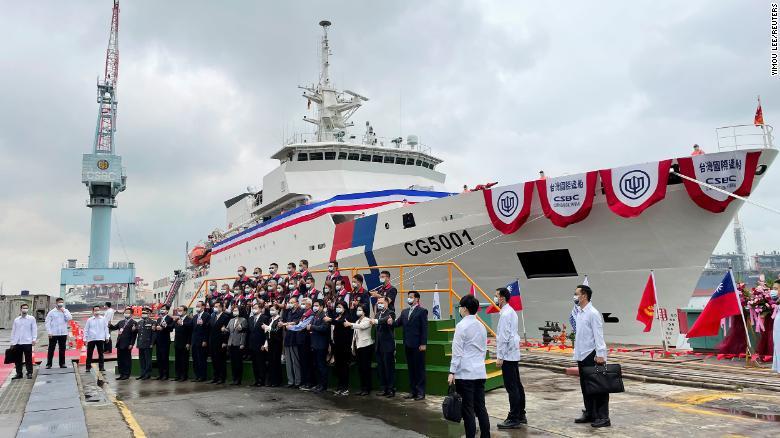 Taiwan's new coast guard flagship to counter China's 'gray zone' threat