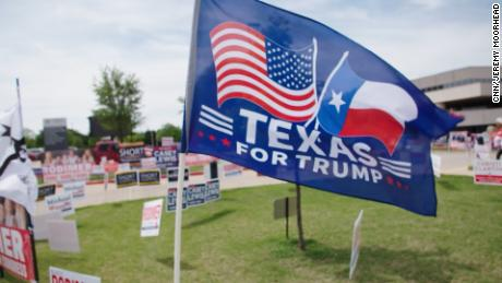 The Texas Congress race showcases the GOP's struggles to defeat Trump, conspiracy theories and election lies.