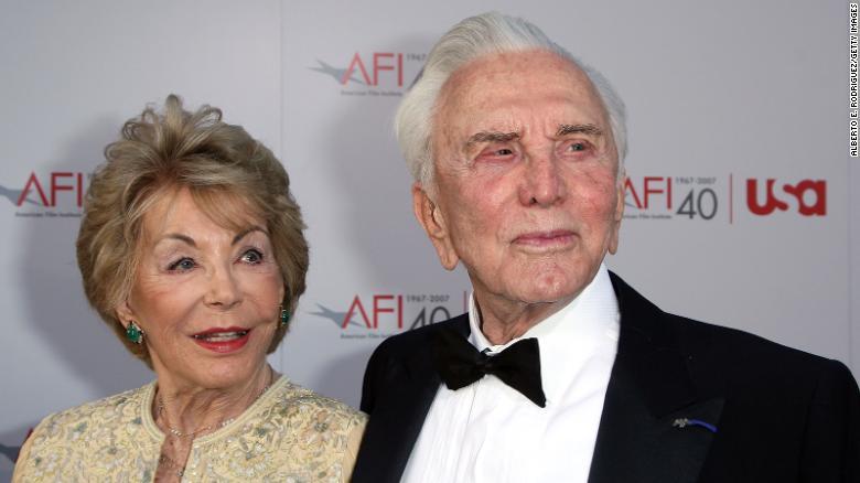 Anne Douglas, philanthropist and widow of actor Kirk Douglas, dies at 102