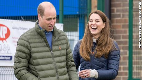 William and Kate on an engagement in northern England this week.