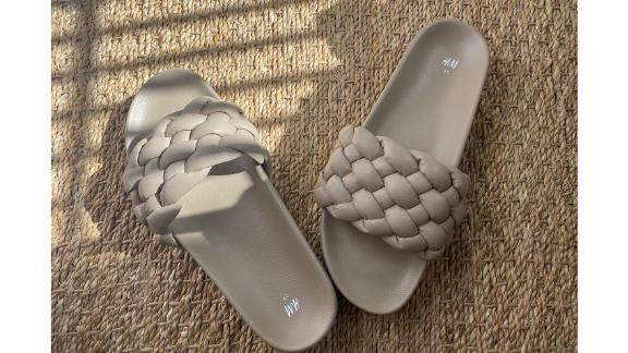 H&M Braided Slides