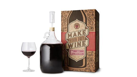 Uncommon Goods Merlot Wine Making Kit