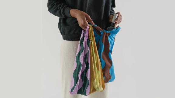 Baggu Wine Bags, Set of 3