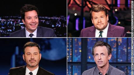 Late night TV may never be the same