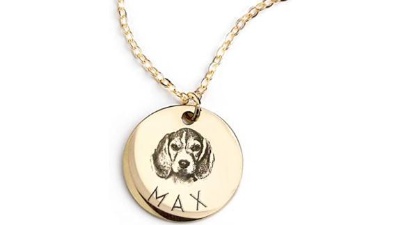 MignonandMignon Personalized Pet Necklace