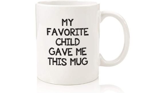 Wittsy Glassware 'My Favorite Child Gave Me This Mug'