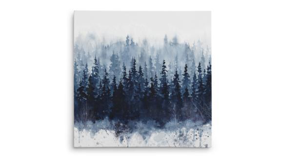 """Indigo Forest"" Print on Canvas"