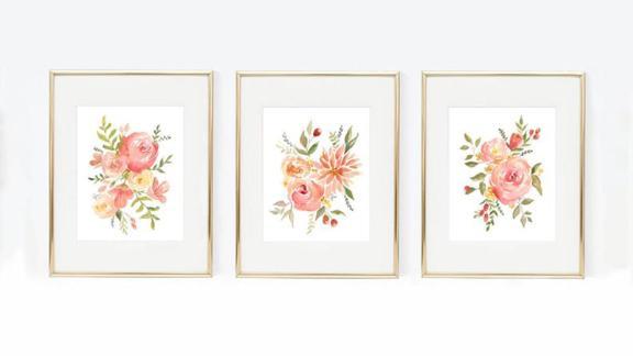 Springtime Flower Arrangement Trio Pack