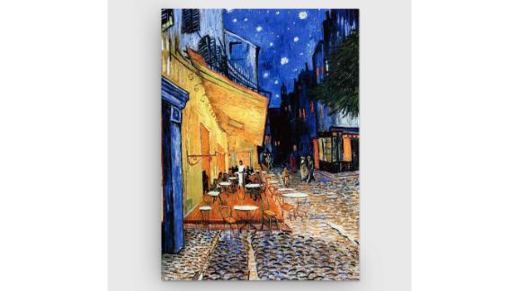 """""""The Café Terrace"""" by Vincent Van Gogh Print on Canvas"""
