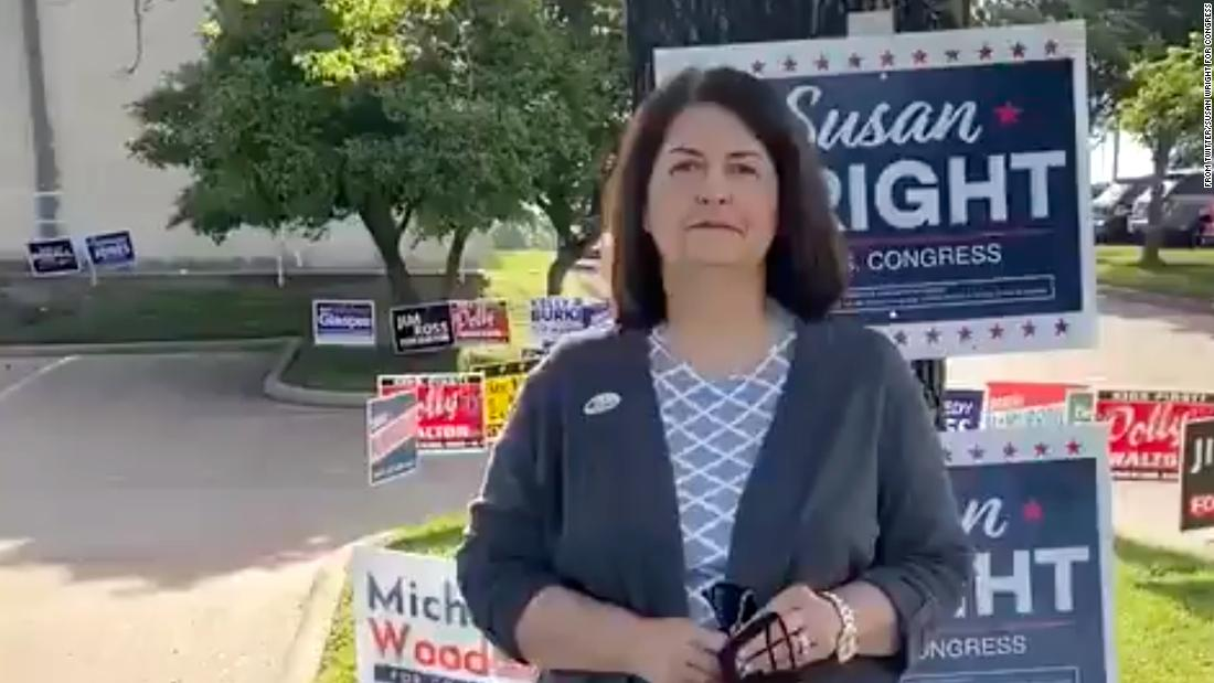 Susan Wright advances to runoff in Texas' 6th District special election with tight race for second spot – CNN