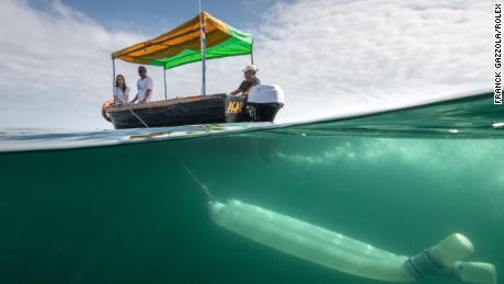 Forsberg's organization Planeto Océano involves local fishermen in scientific research.