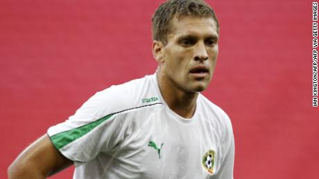 Bulgaria's captain Stiliyan Petrov attends a training session at Wembley Stadium, in west London, on September 2, 2010. Bulgaria plays England in a Euro 2012 qualifying match on September 3.   AFP PHOTO/IAN KINGTON  NOT FOR MARKETING OR ADVERTISING USE - RESTRICTED TO EDITORIAL USE (Photo credit should read IAN KINGTON/AFP via Getty Images)