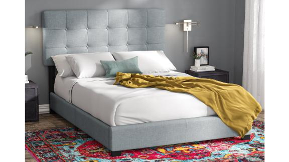 Finnigan Tufted Upholstered Low-Profile Standard Bed