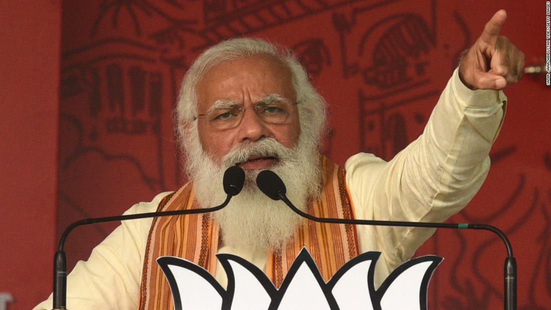 Modi presses ahead with $1.8 billion parliament renovation even as Covid-19 ravages India – CNN