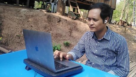 Ye Wint Thu continues to report the news from a safe location in Myanmar.