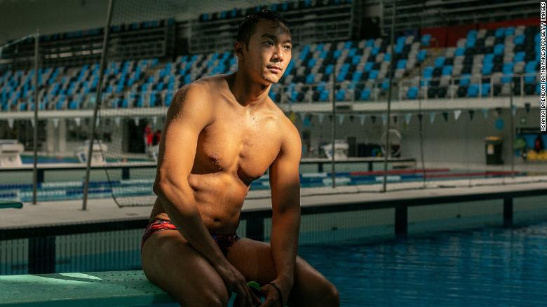 Myanmar swimmer Win Htet Oo: 'Genocidaires do not deserve to be in the Olympics'