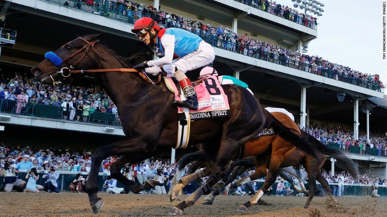 Medina Spirit's Kentucky Derby win in doubt after postrace drug test