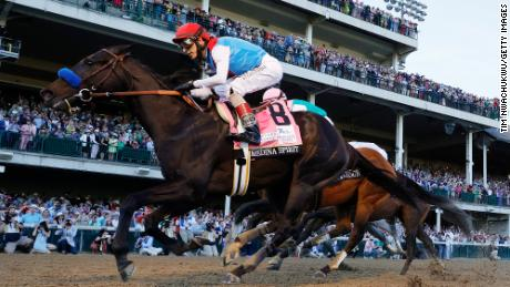Medina Spirit's Kentucky Derby win in doubt after failing postrace drug test