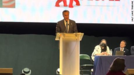 Sen. Mitt Romney booed while speaking at Utah GOP convention - CNN Video