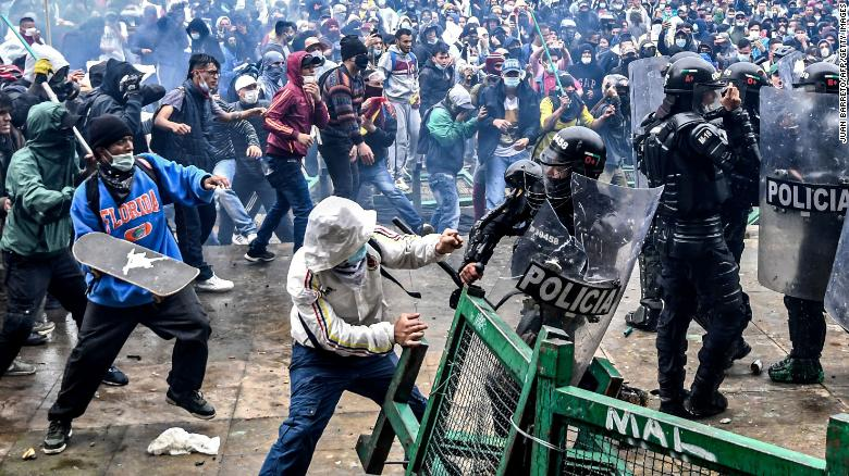 Colombia's bloody protests could be a warning to the region