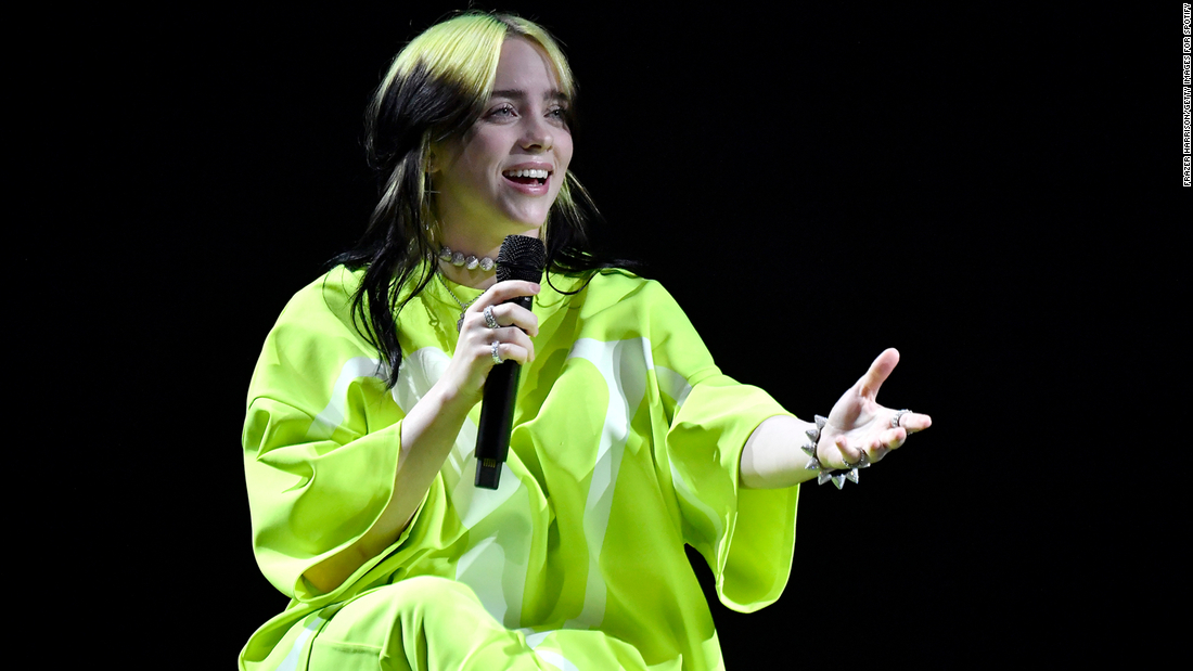 Billie Eilish shows off a new look on the cover of British Vogue – CNN