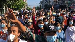 Eight killed as Myanmar security forces fire on 'spring revolution' protests