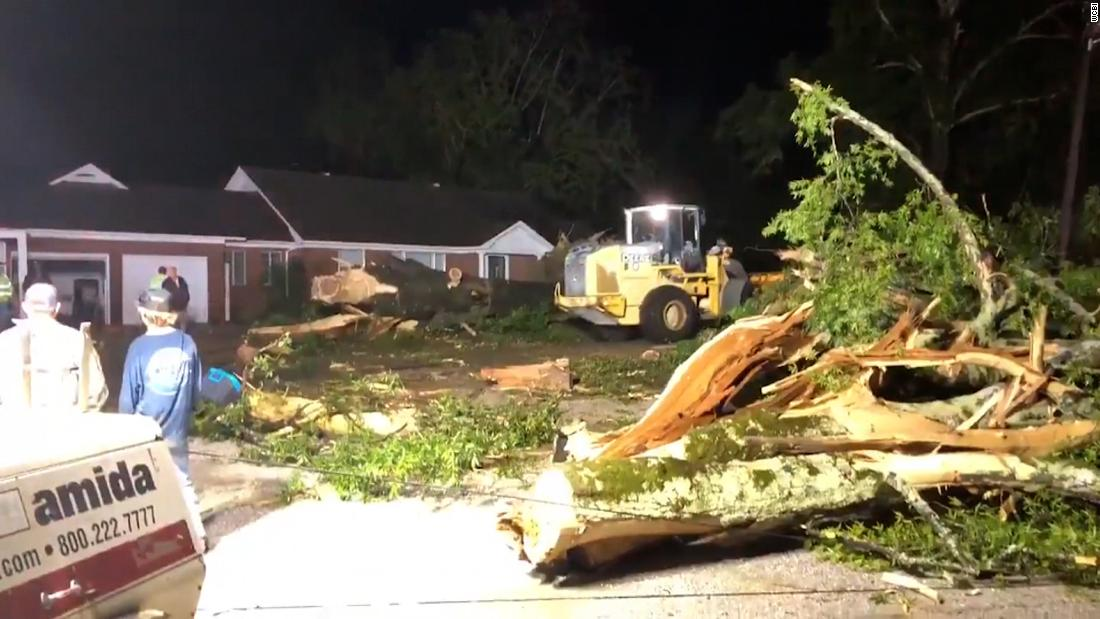 Damage reported in at least 3 cities after tornadoes tear through Mississippi – CNN