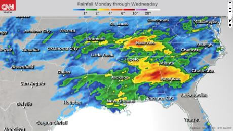 Forecast for Wednesday