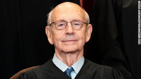 Exclusive: Stephen Breyer says he hasn't decided his retirement plans and is happy as the Supreme Court's top liberal