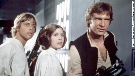 "Binge-watching films set in a galaxy far, far away May 4 makes for great pandemic escapism. (From left) Mark Hamill, the late Carrie Fisher and Harrison Ford are shown in ""Star Wars: Episode IV - A New Hope."""