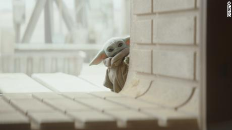 "Grogu, or the Child, from the TV series ""The Mandalorian,"" has been dubbed ""Baby Yoda"" by fans and the media."