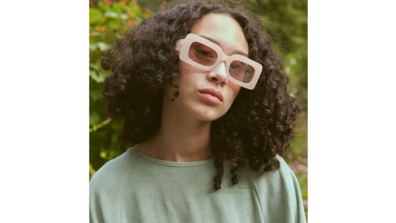 Margot Chunky Rectangle Sunglasses