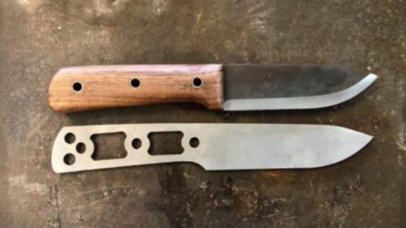 AntiGravityGear Ultralight Bushcraft Knife