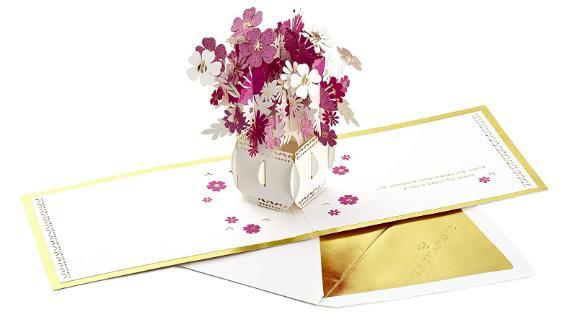 Hallmark Signature Paper Wonder Pop-Up Card