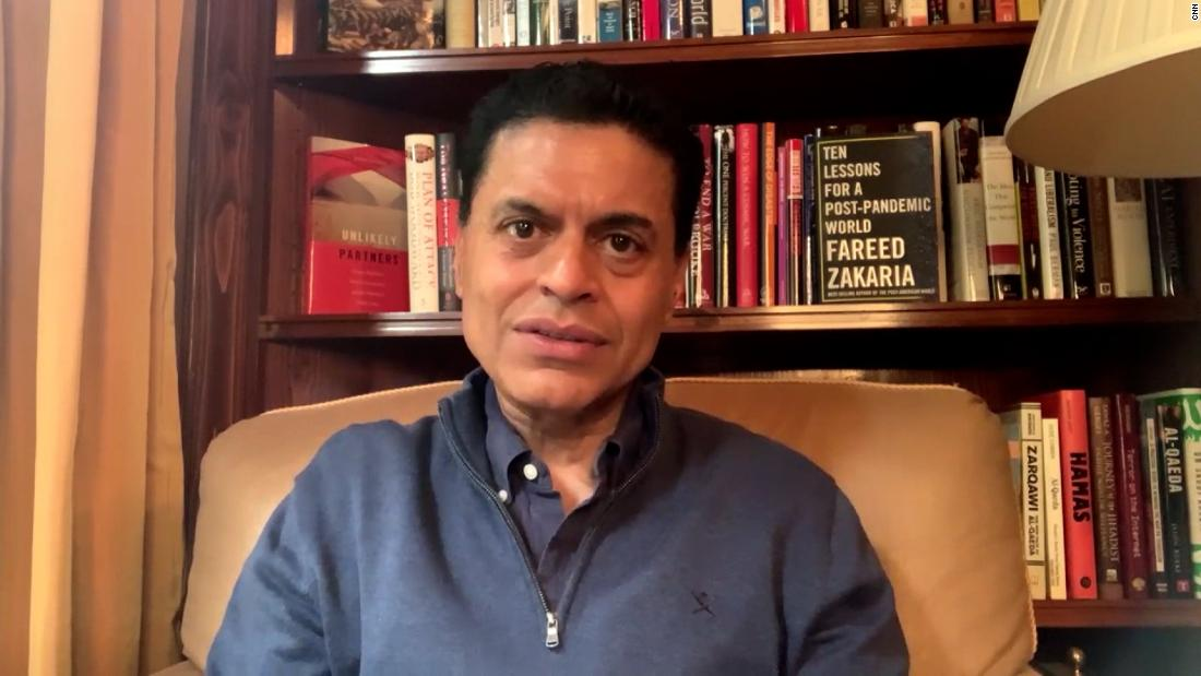 Fareed Zakaria: Second lockdown in India is 'impossible'