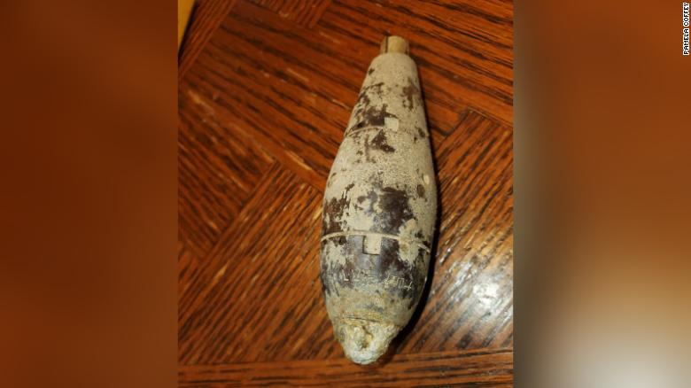Missouri woman discovers WWII military device in her backyard