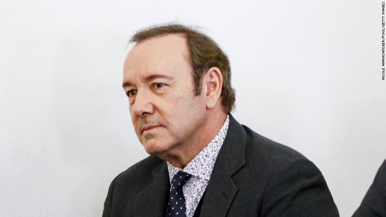 Man who accused Kevin Spacey of sexual assault has 10 days to identify himself so civil case can proceed, judge rules