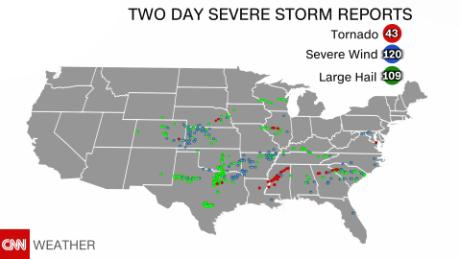 Day 3 in a multi-day severe weather outbreak